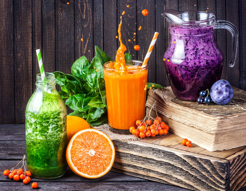 In focus – Juicing v Smoothies