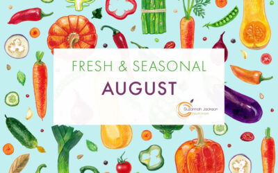 Seasonal Food – August