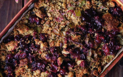 Recipe Of The Month – Apple and blackberry crumble