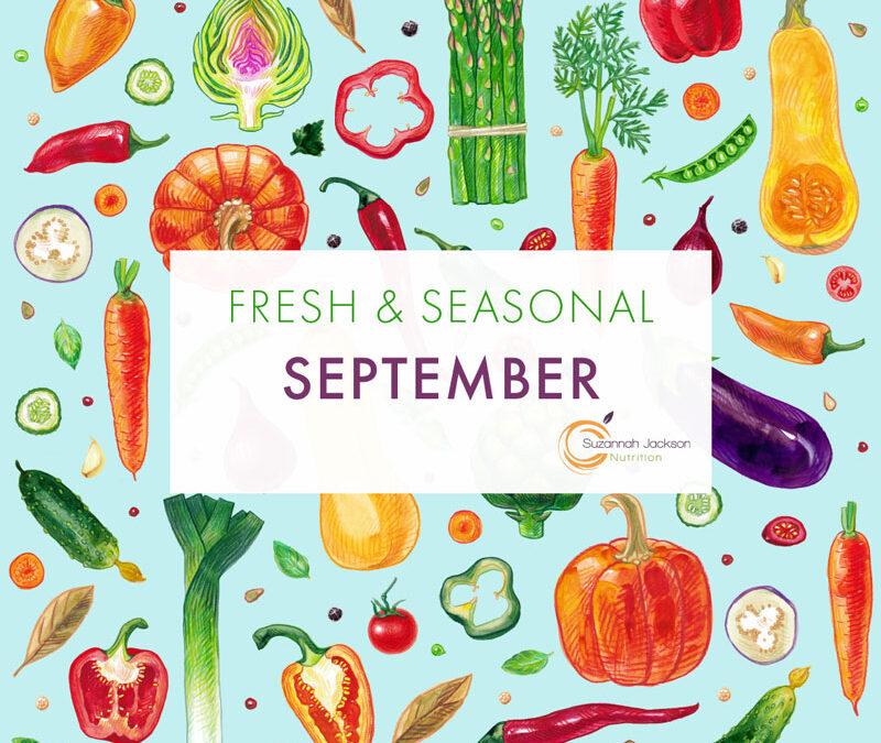 Seasonal Food – September