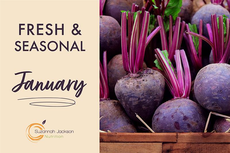 Seasonal Food – January