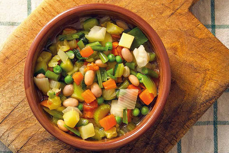 Recipe Of The Month – Beany Veg Soup