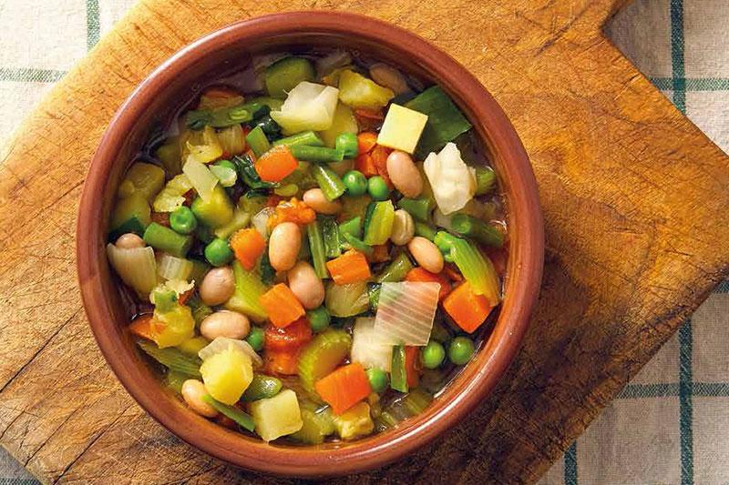 Beany Veg Soup