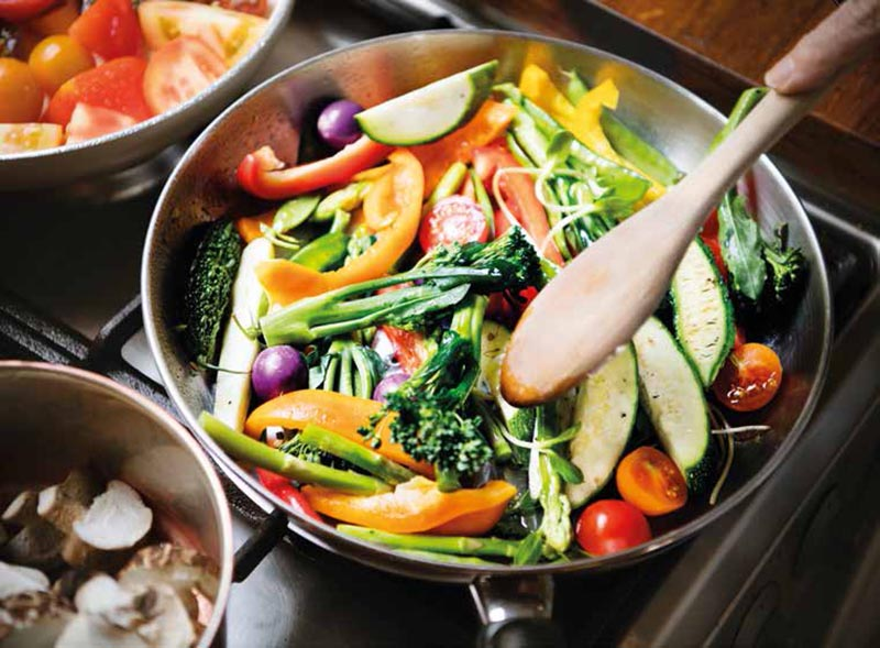 Seasonal Vegetable Stir Fry