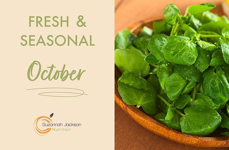 Seasonal Food- October
